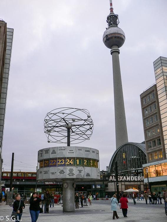 Alexanderplatz de Berlin