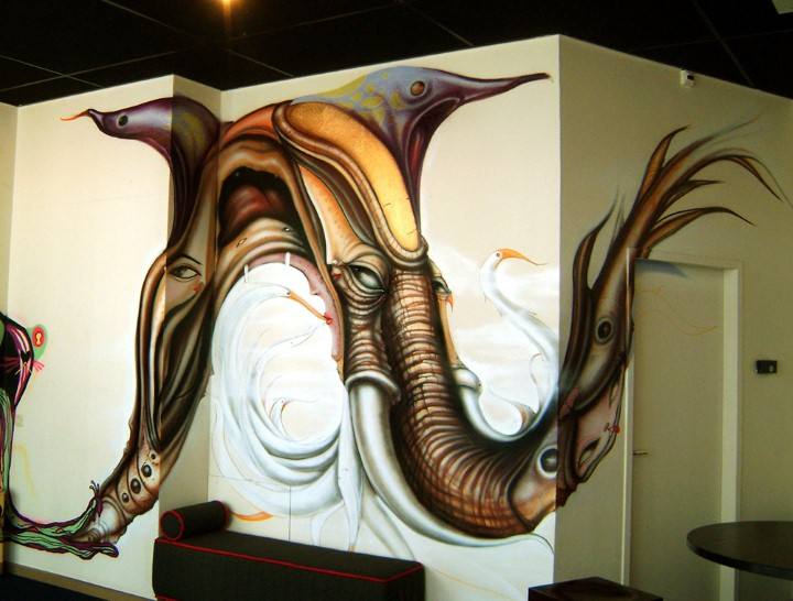 Andre Muniz Gonzaga. Street Art художник 15