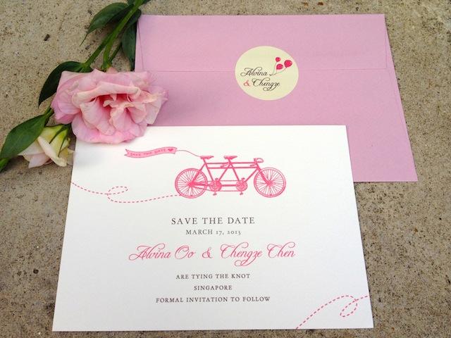 Bespoke Wedding Invitations Singapore