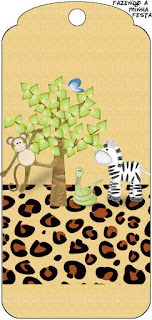 Para marcapáginas de La Selva de Juguete.