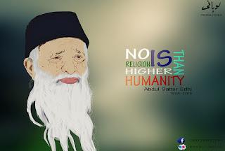 Abdul Sattar Edhi portrait