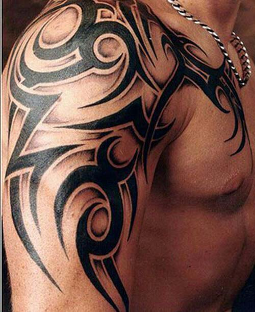 erkek tribal dövmeler man tribal tattoos 42
