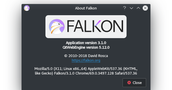 K * Digest!: Checking Out KDE's Falkon Web Browser In Detail