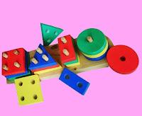 mainan anak dari kayu