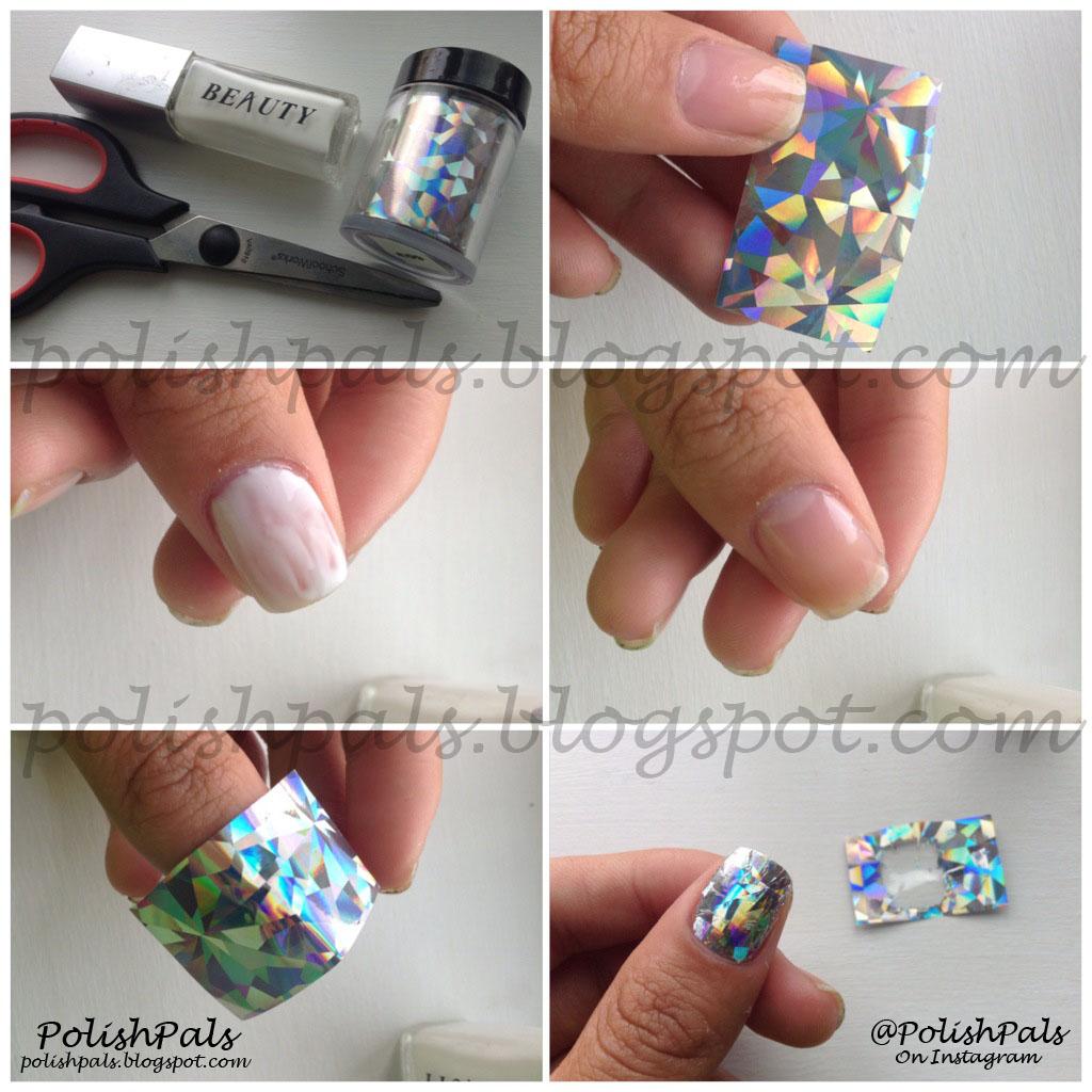 Nail Art Tutorials: Polish Pals: Nail Foil Tutorial