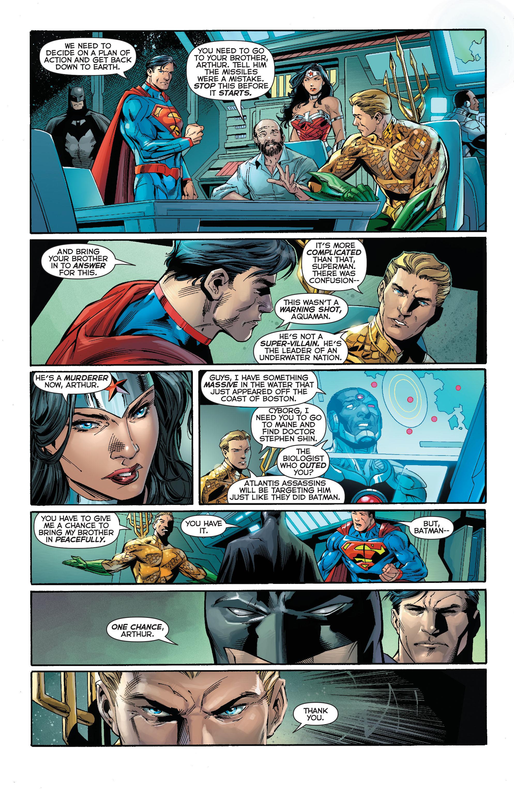 Read online Aquaman (2011) comic -  Issue #15 - 16