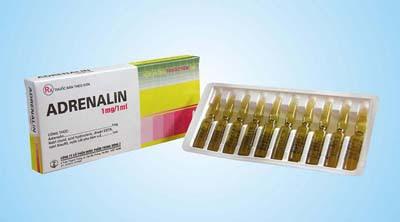 Thông tin thuốc Adrenalin