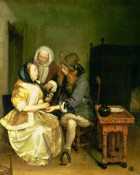 O Copo de Limonada - Gerard Terborch ~ Pintor Barroco ~ Holandês