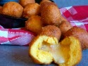 Smoked Bacon Cheddar Hush Puppies