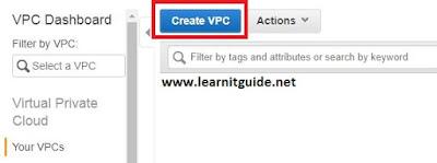 aws create vpc