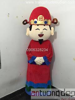 may bán mascot thần tài