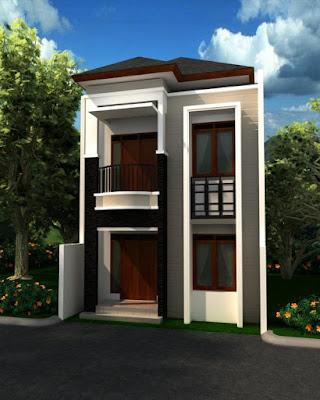 Model Desain Rumah Minimalis 2 Lantai Modern Terbaru