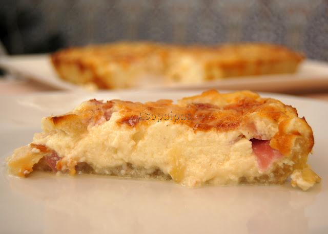 Tarta de Queso y Manzanas (Gâteau au Fromage et Aux Pommes)