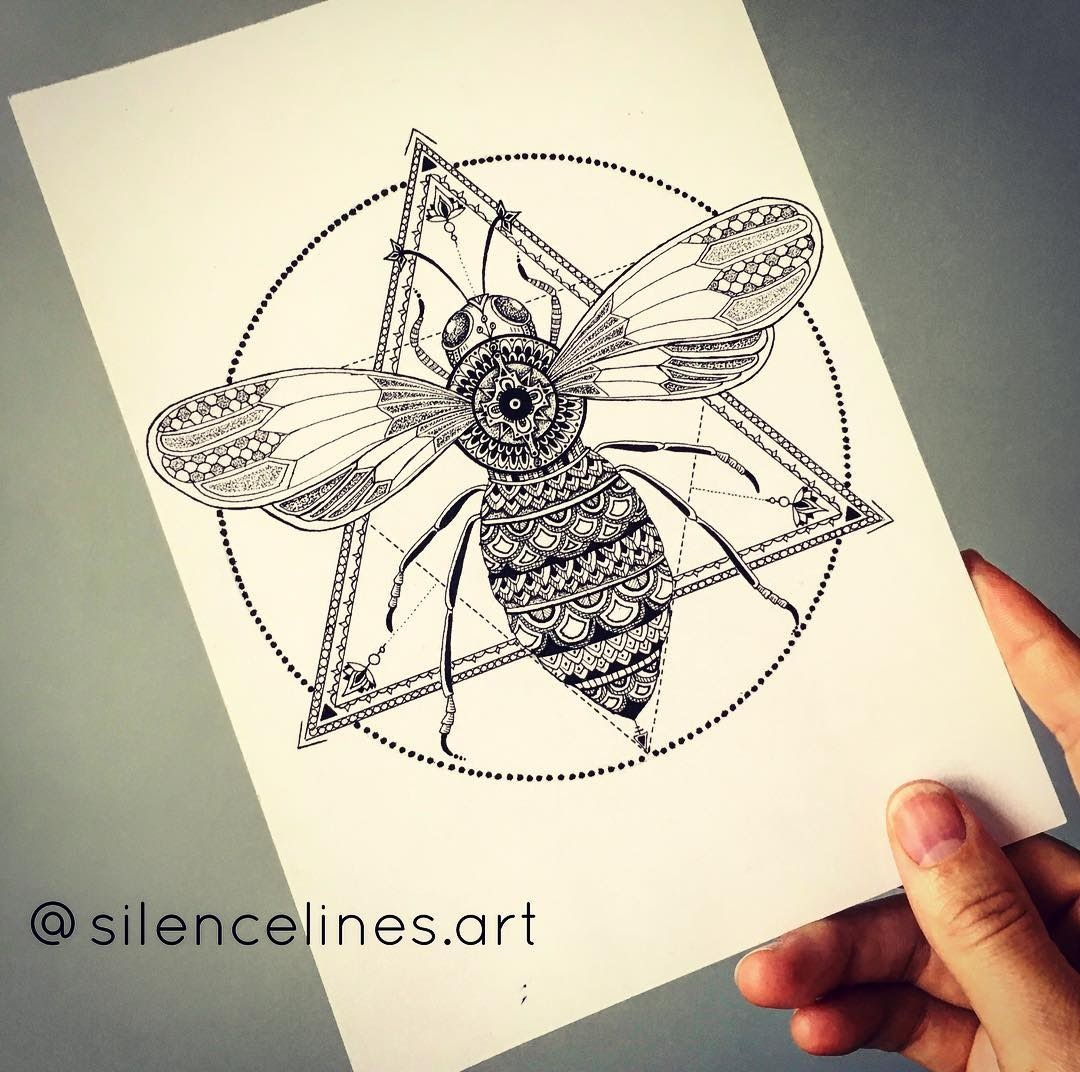 14-Celine-Silence-Lines-Art-Mandalas-Zentangles-and-Stippling-Drawings-www-designstack-co