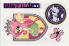 MLP Tattoo Card 4 Equestrian Friends Trading Card