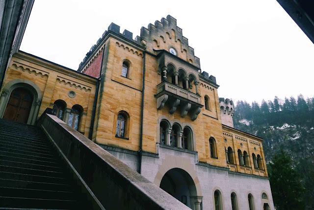 Neuschwanstein Castle Staircase