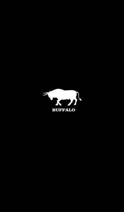BUFFALO -BLACK & WHITE-