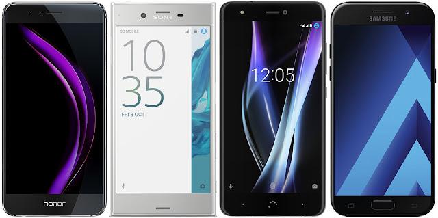 Comparativa mejores móviles Android menos de 350 euros
