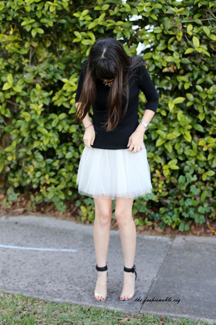 tulle skirt miami fashion blogger