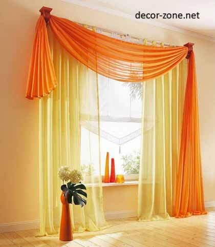 beautiful window curtains for living room