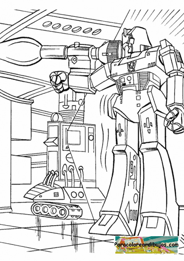 Transformers Para Colorear Ofertas De El Dia