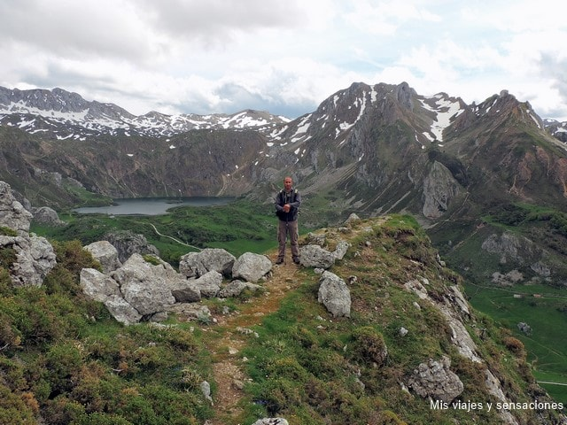 Mirador del lago del Valle, Lagos de Saliencia, Parque Natural de Somiedo, Asturias