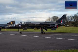 SEPECAT Jaguar Bomber ground attack XX837