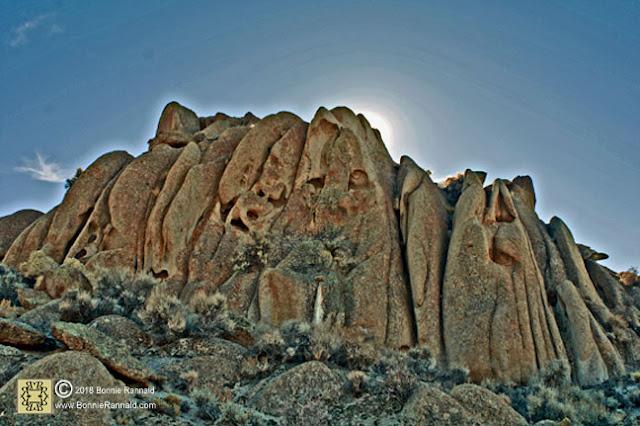 Spooky Rock Outcropping, Nevada