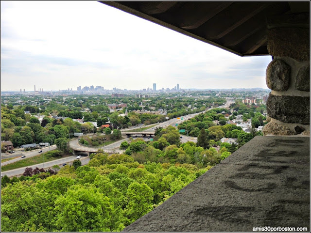 Middlesex Fells Reservation: Vistas de Boston