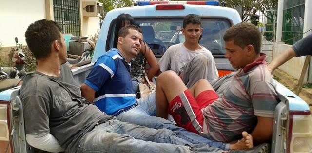 Bandidos que explodiram Caixa em Baianópolis estão presos em Barreiras