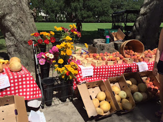 Forsyth Farmers Market farm to table produce featured at top Savannah inn | Photo (c) Jackie Heinz