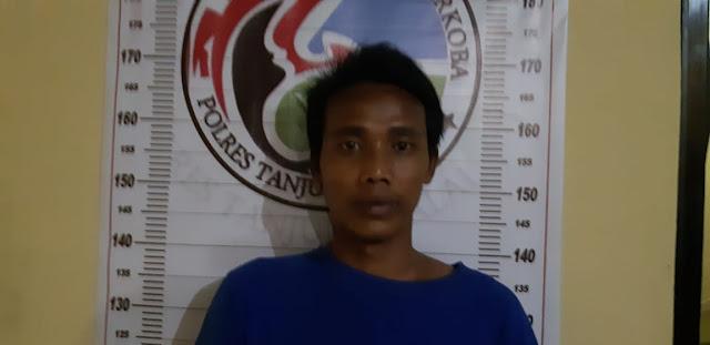 Tersangkangka narkoba di Tanjungbalai.