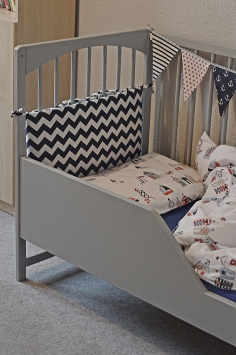 metamorfoza, diy, łożeczko dziecięce, odnowione łóżko dziecięce