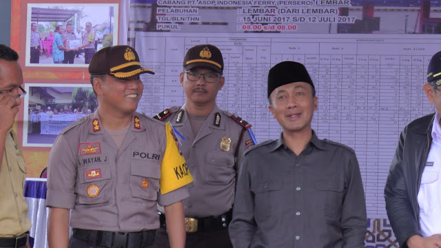Polres Lobar Dan TNI Siap Sterilkan Mudik Lebaran