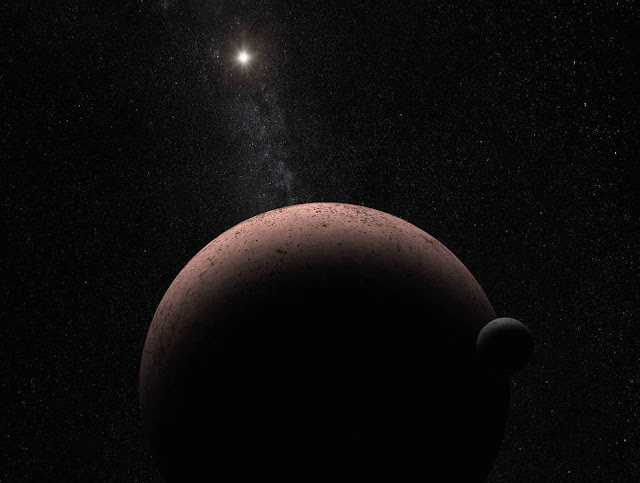 A new moon never seen before appears in our solar system thanks to the Hubble