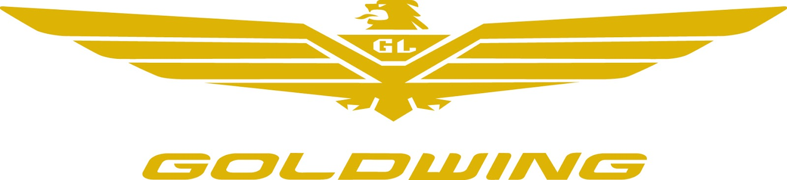 Goldwing logo machine embroidery designs