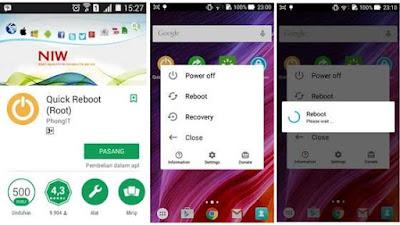 cara merestart Android tanpa menekan tombol power Cara Merestart Ponsel Android Tanpa Menekan Tombol Power