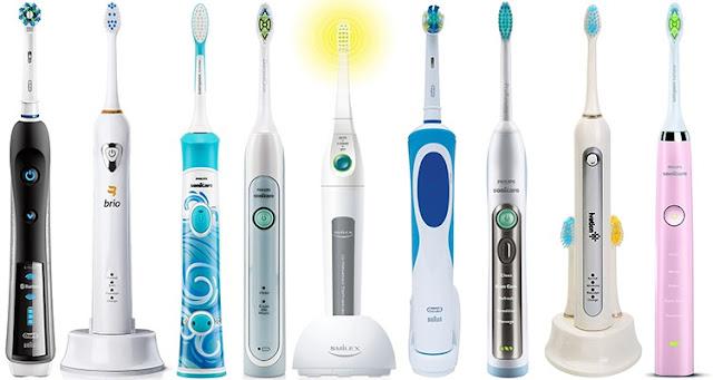 Comment fonctionne une brosse à dents électrique