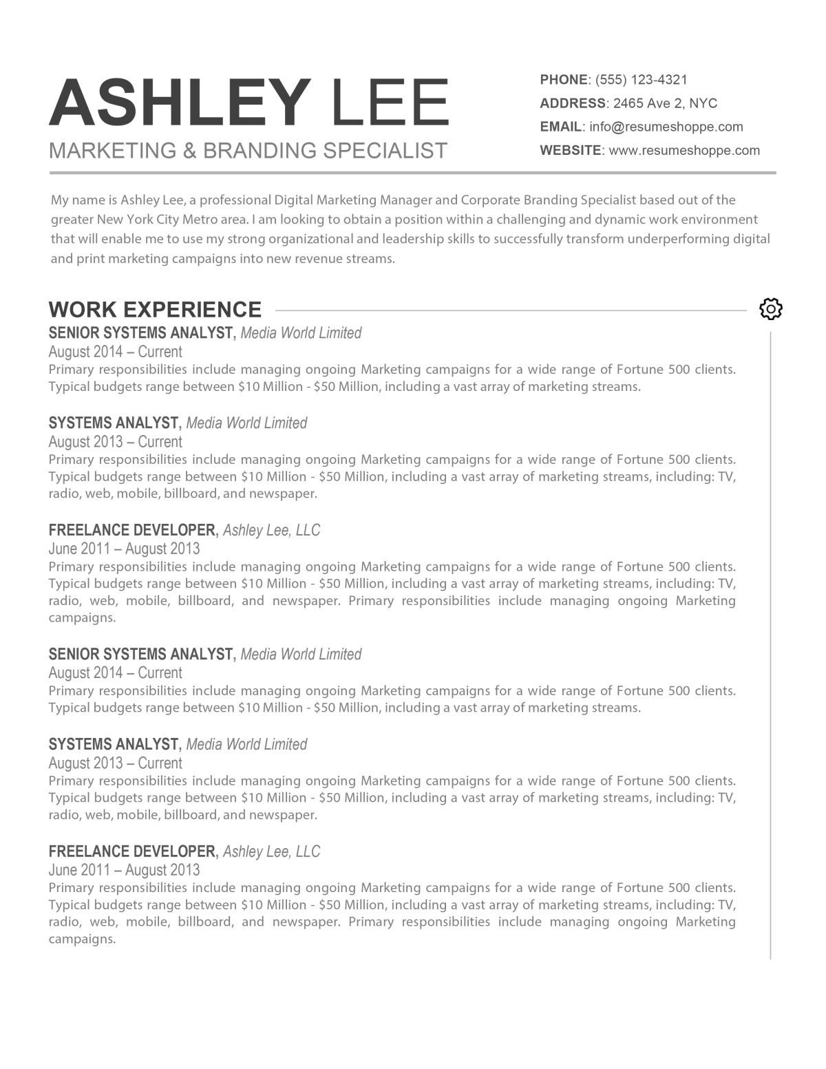 Help Create A Resume Excel A Wide Array Of Resume Templates To Choose From  Dadakan Resume Samples For Administrative Assistant with Resume Reel Excel A Wide Array Of Resume Templates To Choose From Game Designer Resume Word