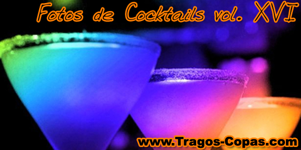 Cocktails escarchados azúcar