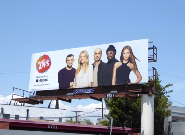 Planet of Apps Apple Music series billboard