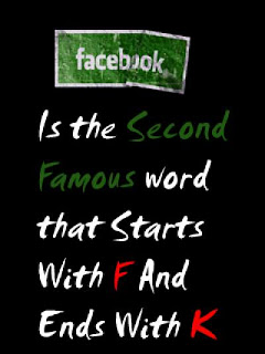 funny thing about facebook and funny words that start with f