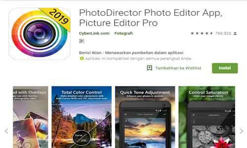 photodirektor aplikasi edit foto keren terbaik untuk android