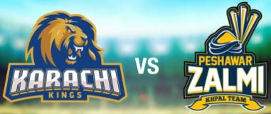Karachi Kings vs. Peshawar Zalmi