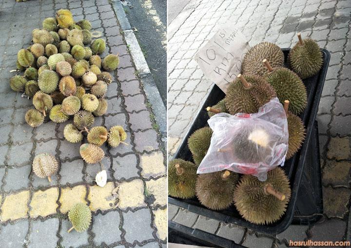 Tips Pilih Buah Durian