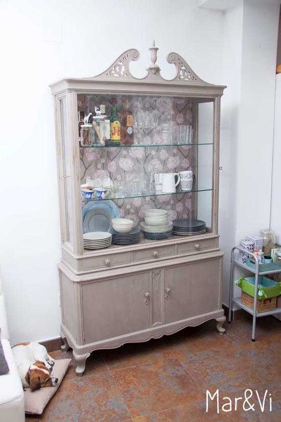 Mueble renovado con Chalk Paint
