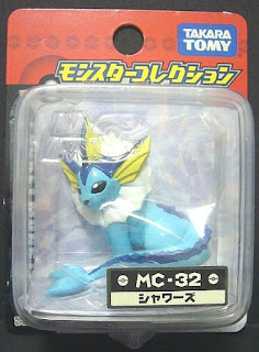 Vaporeon figure Takara Tomy Monster Collection MC series