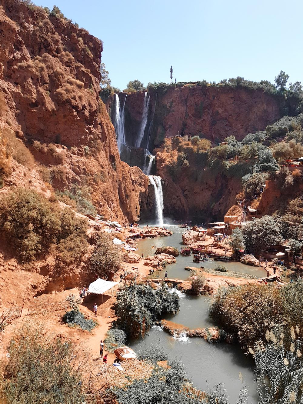 Marokko-Travel-Diary  - Ouzoud Wasserfälle