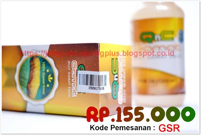 Obat Stroke Alami Paling Ampuh Jelly Gamat QnC
