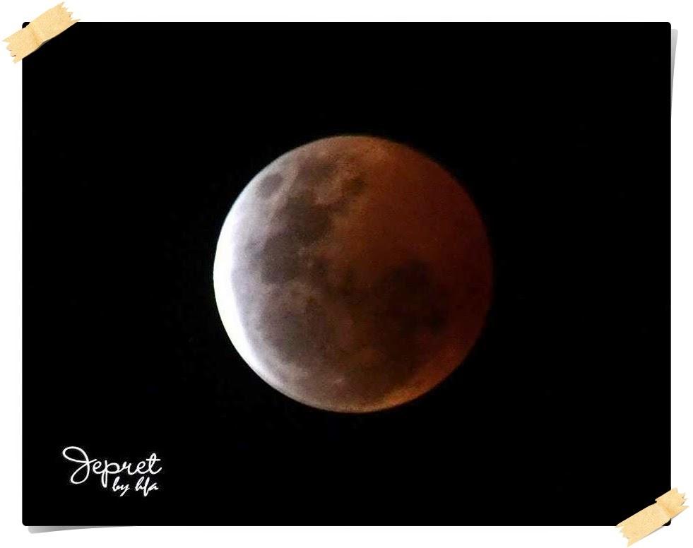 cara memotret gerhana bulan